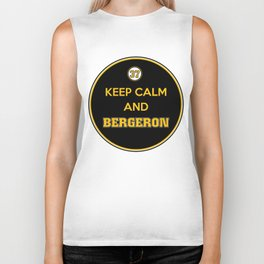 Keep Calm and Bergeron Biker Tank