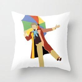 Sixth Doctor: Colin Baker Throw Pillow
