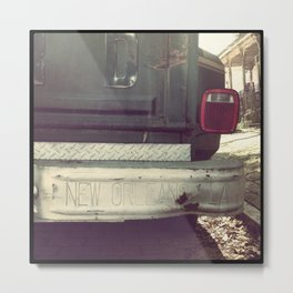 Bywater Truck, New Orleans, Louisiana Metal Print