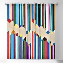 Colorful Connection Blackout Curtain