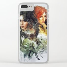 Witcher 3 Clear iPhone Case