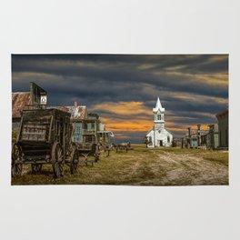 Western 1880 Town Rug