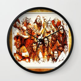 The Cast Wall Clock