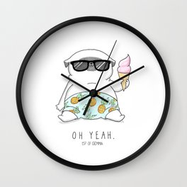 Oh Yeah Wall Clock