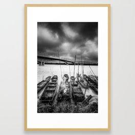 Friendship Bridge III Framed Art Print