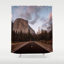 El Capitan Sunset Shower Curtain