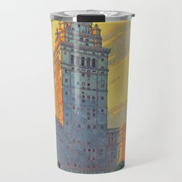 Vintage poster - Cleveland Travel Mug