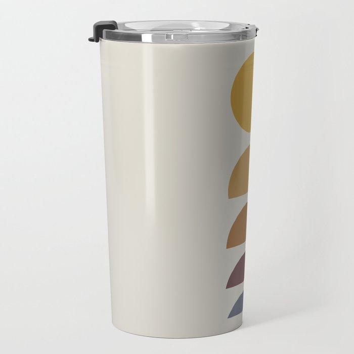 Minimal Sunrise / Sunset Travel Mug