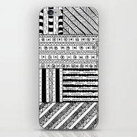 black white iPhone & iPod Skins featuring Black&White White&Black by Kaitlyn_Michelle_