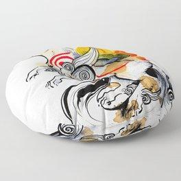 OKAMI AMATERASU I Floor Pillow