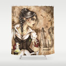 Arsenic Shower Curtain