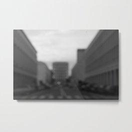 Pinhole Street Metal Print