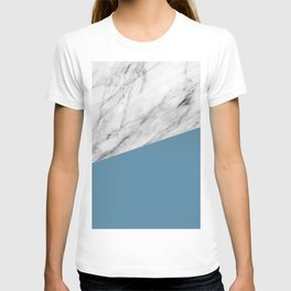Marble and Niagara Color T-shirt