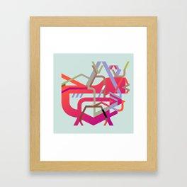 Rudimentary Machine 2 Framed Art Print