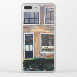 Canal Delft, Holland Clear iPhone Case