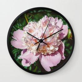 Manhattan Bloom IV Wall Clock