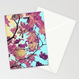 Japanaese Tree with hänging nouses in the Sun Stationery Cards