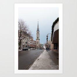 Montréal in November (9 of 11) Art Print