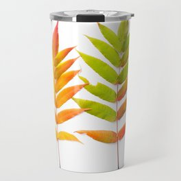 Rainbow Sumac for Autumn in Canada Travel Mug