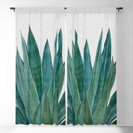 Agave Cactus Blackout Curtain