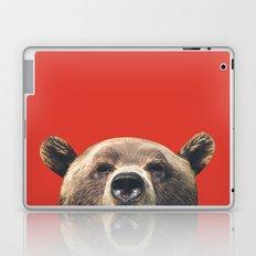 Bear - Red Laptop & iPad Skin