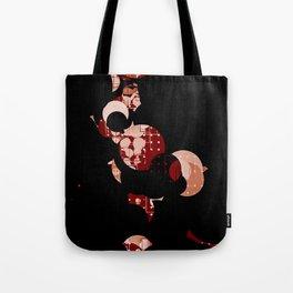 Half Moon Abstract Patterns Tote Bag