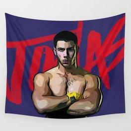 Nick Jonas Wall Tapestry
