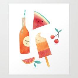 Summatime Art Print