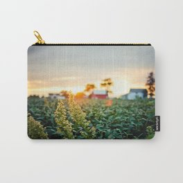 Rustic Midwest Farm  Carry-All Pouch