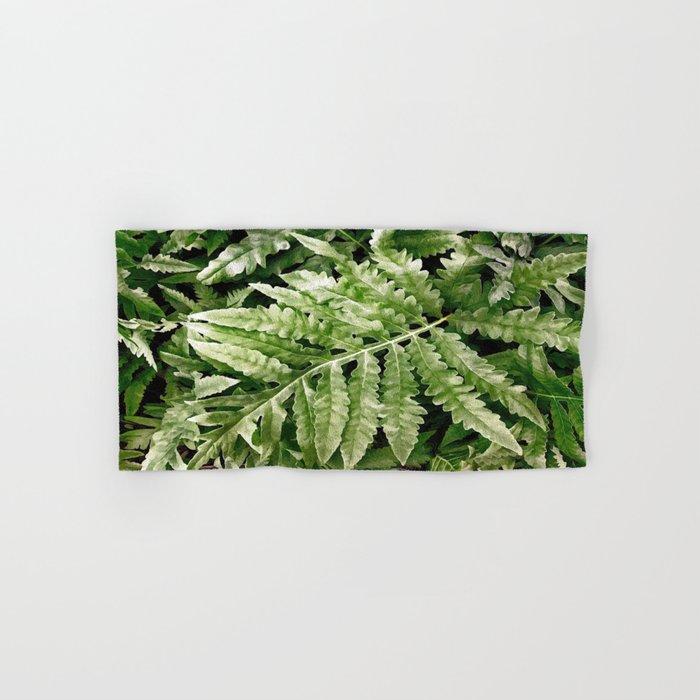 Lush Ferns Hand & Bath Towel