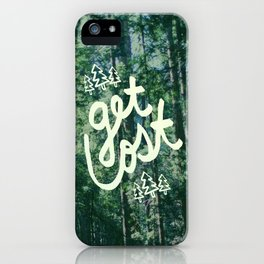 Get Lost x Muir Woods iPhone Case