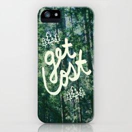 Get Lost x Muir Woods iPhone Case
