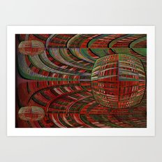 unexpected time warp Art Print