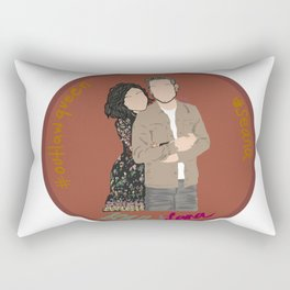 Sean Maguire & Lana Parrilla (The Happy Ending Convention II) Rectangular Pillow