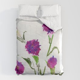 You Know What Freud Said About Carnations Comforters