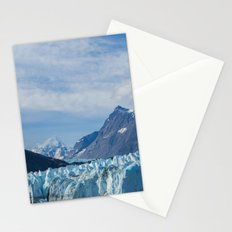 Glacier and Mountains in Alaska Stationery Cards