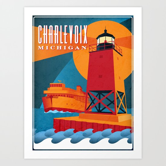 Charlevoix The Beautiful Art Print