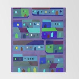 Tepito de Azul Throw Blanket
