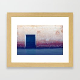 Liquid Road Framed Art Print
