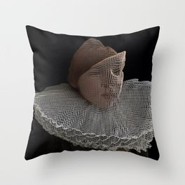 "Glitch art, ""The Little Prince"" 2014 Throw Pillow"