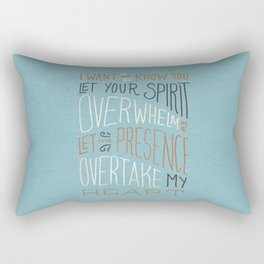 I Want to Know You (Bethel) Rectangular Pillow