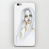 "transparent iPhone & iPod Skins featuring ""TRANSPARENT"" by AB.13"