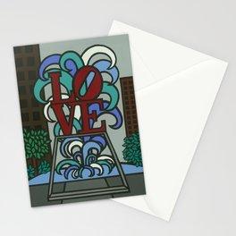 pop LOVE park Stationery Cards