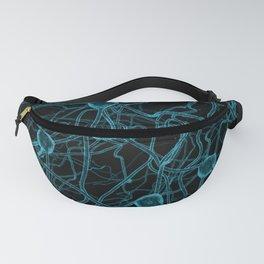 You Get on My Nerves! / 3D render of nerve cells Fanny Pack