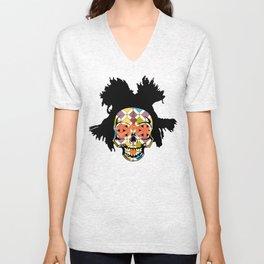 Basquiat Skully Unisex V-Neck