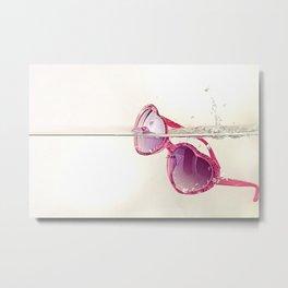 La vida en rosa Metal Print