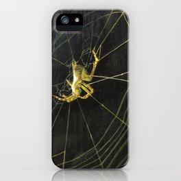 o_003_spider iPhone Case