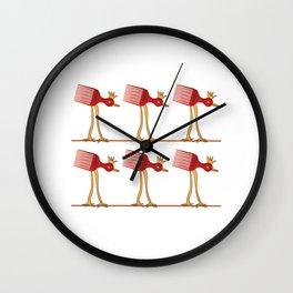 Night Hair Style Wall Clock