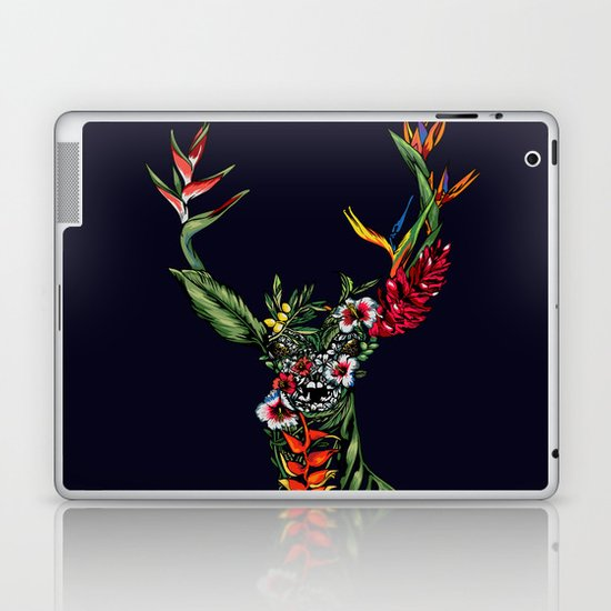 Tropical Deer Laptop & iPad Skin