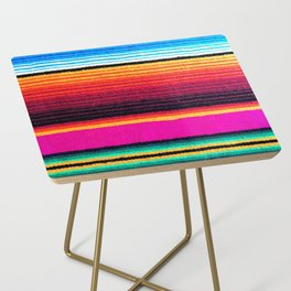 Magenta Sky Serape Side Table